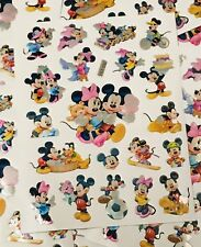 Mickey Mouse Stickers Party Bag Loot Bag Fillers 10 Sheets Of Stickers Minnie