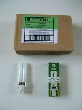 10 x G23 Bulb Fluorescent Lamps GE 5W Biax New and Boxed
