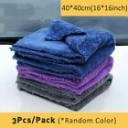 Microfibre Cloths Cleaning Auto Car Detailing Extra Soft Wash Towel Drying