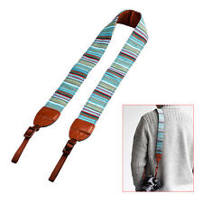 New Classic Camera Shoulder Neck Belt Strap For SLR DSLR Universal
