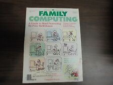VINTAGE!!!!! Family Computing Volume 1 No. 4 December 1983  Magazine
