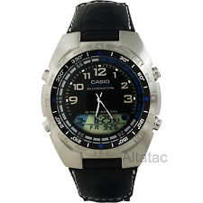 Casio AMW-700B-1AV Men's Analog & Digital Gray Pathfinder Watch w/ Fishing Timer