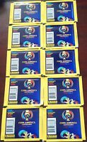 PANINI 2016 COPA AMERICA CENTENARIO 10 PACKS (70 STICKERS)
