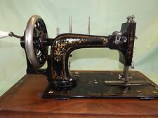 Antique Frister and Rossmann Early Model Sewing Machine with Case ~ (1876-1896)