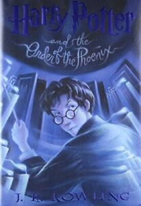 Harry Potter and the Order of the Phoenix by J. K. Rowling Book The Fast Free