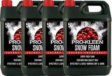 SNOW FOAM CAR SHAMPOO WAX VEHICLE WASH CLEANING SHINE PRESSURE WASHER CHERRY 20L