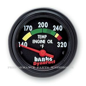 BANKS TRANSMISSION TEMP GAUGE 320° - CHEVY FORD DODGE MOTORHOME