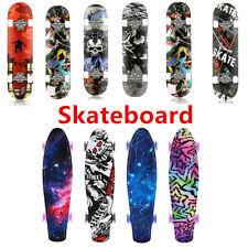 22/31''Skateboard Deck Funboard Miniboard Komplett Board Pennyboard Kinderboard