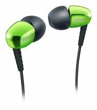PHILIPS Green SHE 3900 gn 3.5mm Connector Premium In Ear Headphone W/softcaps