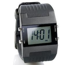 Armbanduhr mit Wecker: Sprechende Herren-Armbanduhr mit Weckfunktion