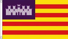 Spain Balearic Islands Majorca Mallorca 5'x3' Flag