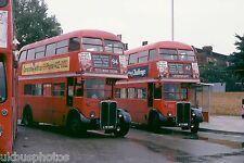 London Transport RT3467 & 1790 Lewisham Aug 1978 Bus Photo