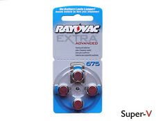 Rayovac Extra Advanced Hearing Aid Batteries Size 675 (20 cells)  PR44