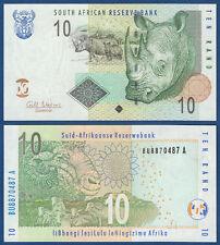 SÜDAFRIKA / SOUTH AFRICA 10 Rand (2009)  UNC P.128 b