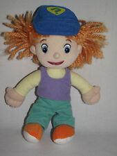 """Darby Plush Disney Winnie Pooh Super Sleuths 9"""" Soft Stuffed Doll Toy Yarn Hair"""