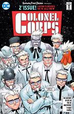 DC KFC The Colonel Corps #2 PLUS The Colonel Sanders Retro Halloween Costume!!!