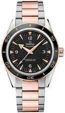 Omega Mens Seamaster  Automatic 18K Gold Swiss Made Watch 233.20.41.21.01.001