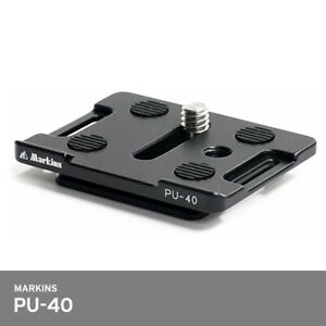 Markins PU-40 Quick Release Camera Plate for Universal 45mm Dove Tail 54x43x10mm