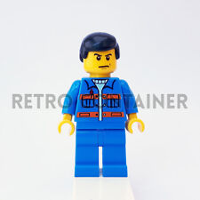 LEGO Minifigures - 1x cty139 - Garage Mechanic - Town Omino Minifig Set 7642