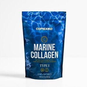 CORREXIKO Marine Collagen Peptides Powder 6 Week Pack 425g 15oz Wild Caught Fish