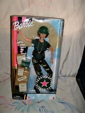 BRAVE&BEAUTIFUL PARATROOPER BARBIE-NEW IN BOX-PROUD MILITARY CAREER!