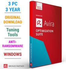Avira Optimization Suite 2021 3 PC 3 Jahre Antivirus