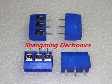 20pcs KF301-3P Screw Terminal Block Connector 5.0mm Pitch