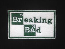 Breaking Bad Logo  Embroidered Patch, Badge Iron on or Sew On.
