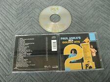 Paul Anka 21 golden hits - CD Compact Disc