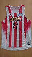 Camiseta Baloncesto basketball jersey Ioannis Athinaiou Olympiacos signed