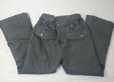 10 20 Ten Twenny Boys Size Medium Snowboard Pants Gray With Pockets