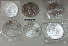ESPAÑA. Lote 6 piezas de 12 EUROS año 2002/03/04//09/09/2010. Peso 109 gr