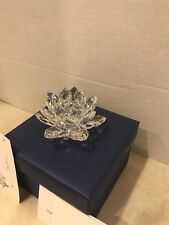 Swarovski Crystal Waterlily Small Candleholder Item 5084103