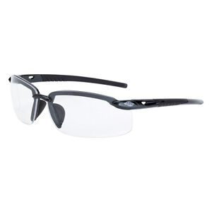 CROSSFIRE ES5 Reader Diopter 2.0X Bifocal Gray Clear Lens Safety Glasses 296420