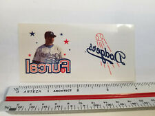 Los Angeles Dodgers MLB #15 Rafael Furcal/Logo Temporary Tattoos