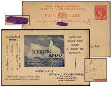Newfoundland 2¢ R½ Psc Stamp Dealer Nov 193[?]-Us P6R