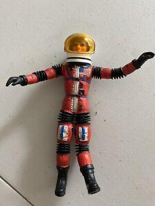 Mattel  ~ Sergeant Storm Red with Helmet ~Blue Strap ~ Matt Mason Man in Space