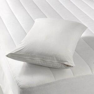 2 Pack Vinyl Waterproof Hypoallergenic BedBug Zipper Pillow Protector