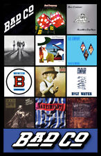 "BAD COMPANY album discography magnet (4.5"" x 3.5"") paul rodgers led zeppelin"