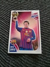 166 Leo Messi Cromo Sticker collection Barcelona Oficial Panini 12-13 golden boy