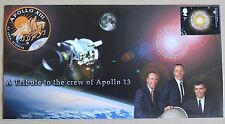 SPACE A TRIBUTE TO THE CREW OF APOLLO 13 2002 COVER ASTRONOMY HANDSTAMP