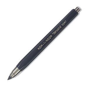Koh-I-Noor 5347 Versatil Plastic Leadholder/Clutch Pencil Black or Red - 5.6mm