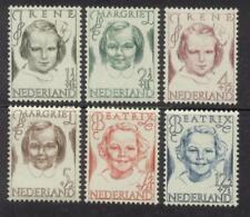 NVPH 454-459 Prinsessen 1946 postfris (MNH)
