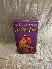 Mary Kate And Ashley Olsen Our First Video VHS