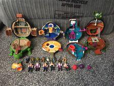 Teenage Mutant Ninja Turtles Mini Mutants Playsets - Vintage - Original - 1990's