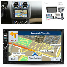 "7"" Touch Screen Car Audio Stereo HD MP5 Player FM Remote Control GPS Navigation"