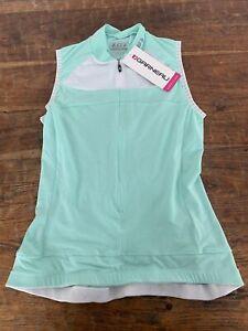 Women's Beeze 2 Sleeveless Cycling Jersey size small mint green NWT