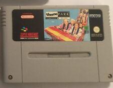 PAL Super Nintendo Entertainment System SNES Jeu THEME PARK (design Ride) OCEAN