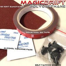 Bumper Lip Installation Kit 3M tape Self-tapping Screws Clean Pads EZ to Install