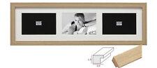 Deknudt Holz Galerierahmen Eiche für 3 Bilder 13x18 cm z. Hängen+Stellen S66KD''